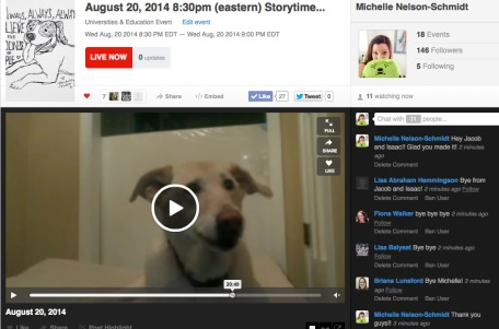 Lucy_storytime_live
