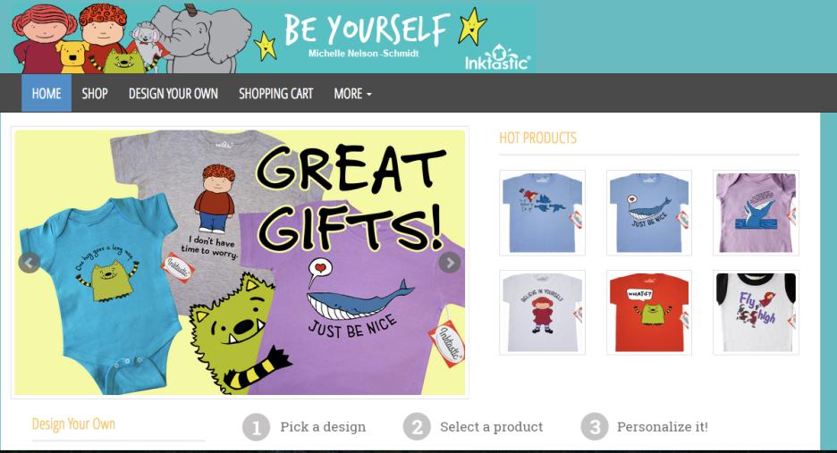 New tee shirt shop